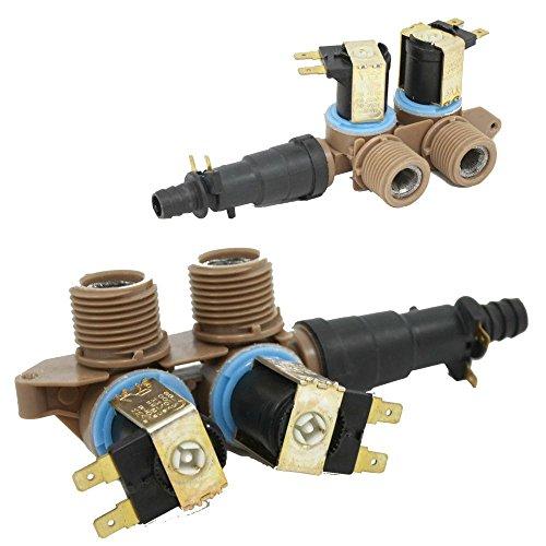 Whirlpool W10175893 Washer Water Inlet Valve Genuine Original Equipment Manufacturer (OEM) Part ()