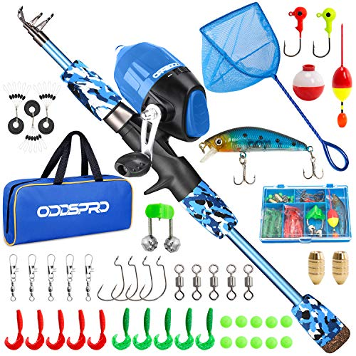 ODDSPRO Kids Fishing Pole