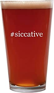 #siccative - 16oz Beer Pint Glass Cup