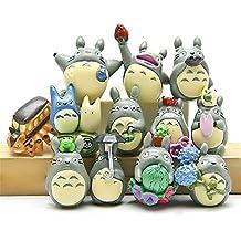 OliaDesign Anime Totoro Figure, 12-Piece