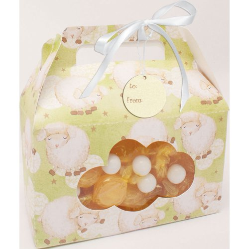 (Creative Converting Baby Shower Ba Ba Baby 2 Count Cookie/Candy Treat Carrying Box with)