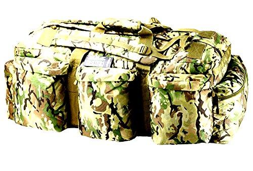 Kombat Camo Outdoor MIL-Tec-Assault-Zaino da viaggio Borsone BTP-Borsa a tracolla, colore: mimetico