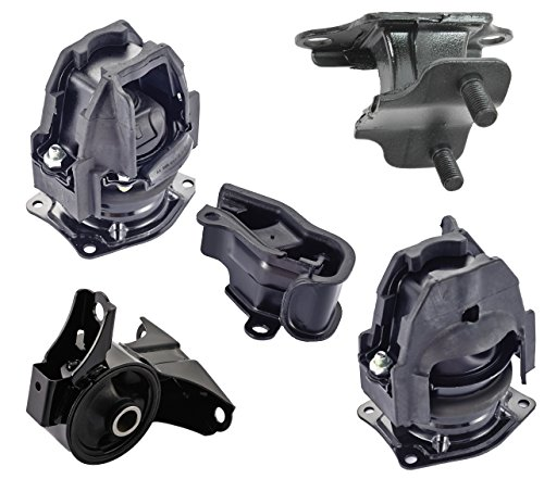 Engine Motor and Trans Mount Set of 5 for 2005 2006 Honda Odyssey 3.5L Touring EX-L ()