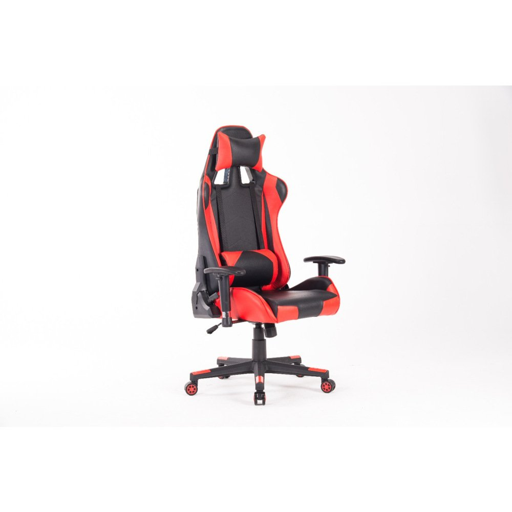 HIgh-Back Gmaing Chair Racing Office Chair Executive Swivel Leather Chair Racing Style With Headrest And Lumbar Support BLACKBRED Ergonomic Computer Chair With Lumbar Support And Headrest HOMEFUN