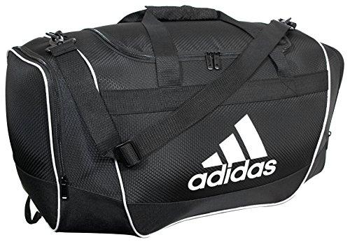 adidas Unisex Defender II Small Duffel Bag, Black, ONE SIZE