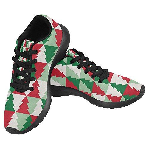 Womens Running Tree Shoes Lightweight Running Christmas Walking Casual Multi Go Jogging 1 Easy Comfort Sports InterestPrint Sneaker HdwPR6qw