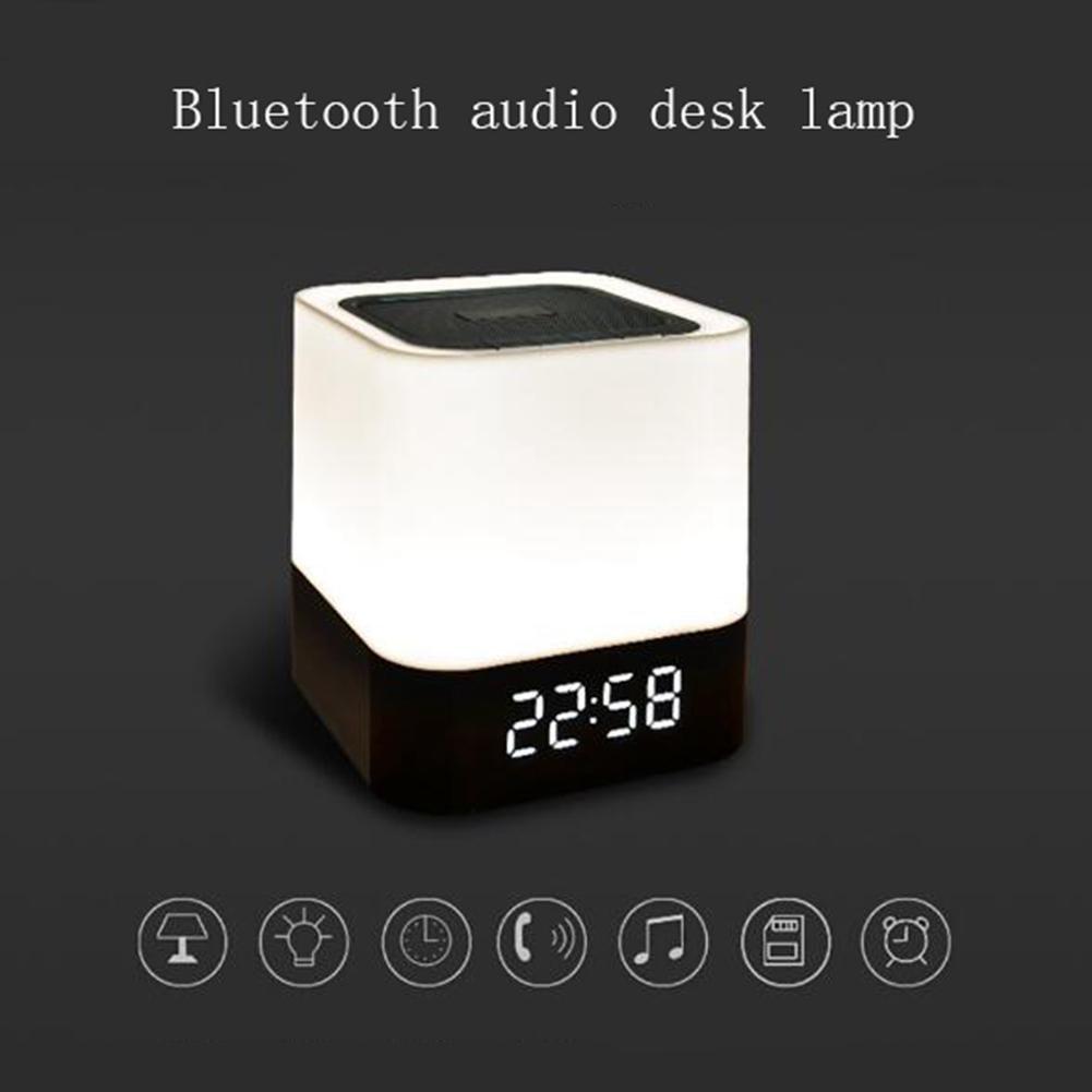 produttori fornitura diretta ZT Altoparlanti blutooth Luci LED Touch Touch Touch Sound Luci di ricarica Altoparlante Luci di allarme Regali  acquista online