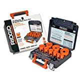 Ridgid 7040 13-Piece Bi-Metal Hole Saw Set