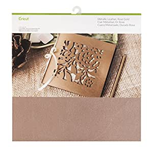 Cricut Leather Metallic, Rose Gold 12x12