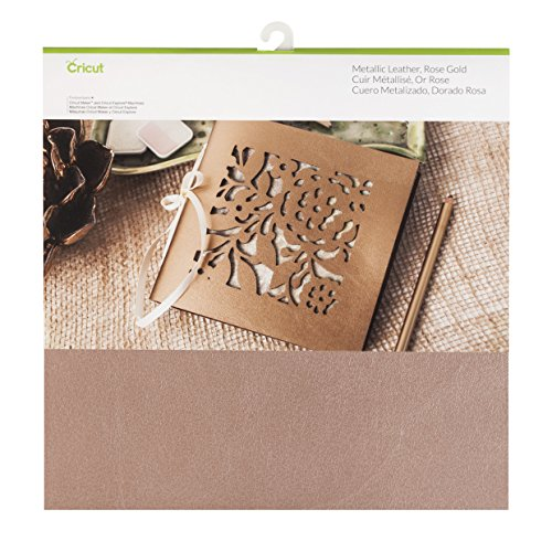 Cricut Leather Decor, 12X12, Rose - Sampler Leather