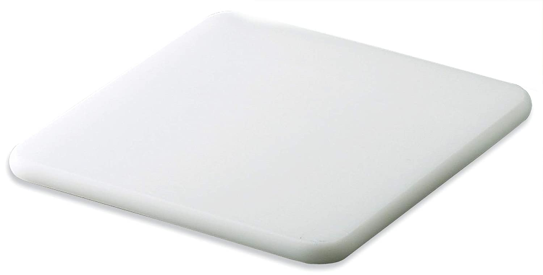 "San Jamar CB6912 Co-Polymer Bar Cutting Board, 9"" Width x 6"" Height x 1/2"" Depth, White"