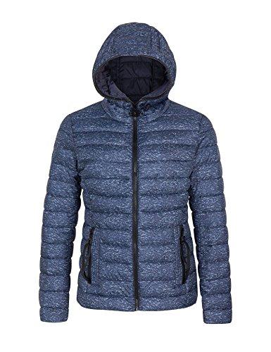 Bellivera Womens Puffer Winter Jacket Padding Jackets for Women Lightweight Quilted Coat Hooded Zipper Pockets Cotton Filling Coats ()