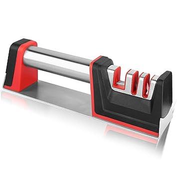 Afilador de cuchillos de cocina, Sistema de afilado de ...
