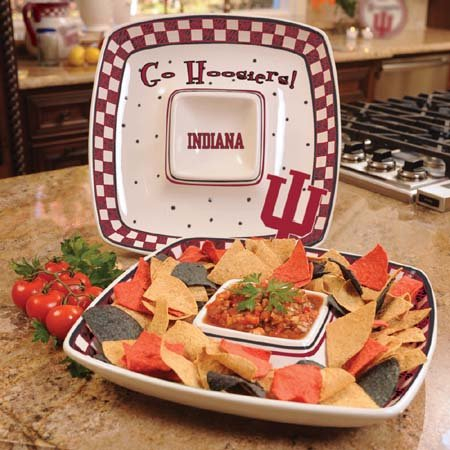 NCAA Indiana Gameday Chip and Dip