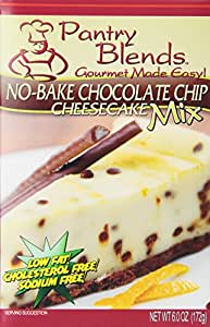 Pantry Blends No-Bake Chocolate Chip Cheesecake Mix, 1-Pound (Pack of 4)