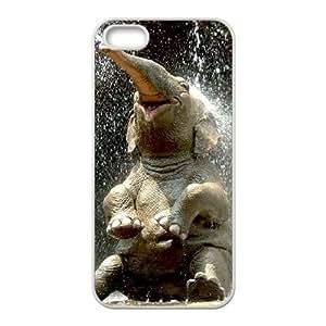 Elephant CUSTOM Phone Case For Sam Sung Galaxy S4 Mini Cover LMc-16385 at LaiMc