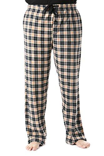 - #followme 45902-12-L Polar Fleece Pajama Pants for Men Sleepwear PJs