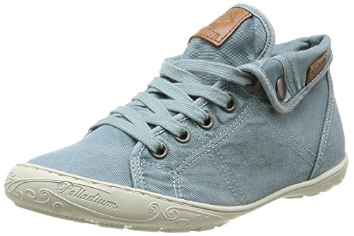 060 Bleu Gaetane Hi PLDM Sneakers Top Women's TWL Palladium Sky 08Ox1qC
