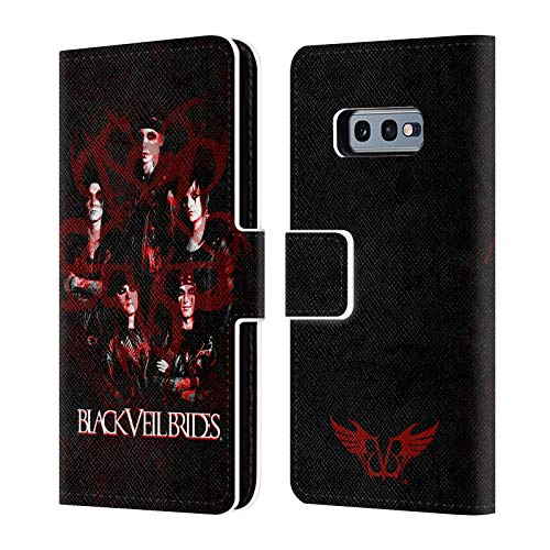 Official Black Veil Brides Group Band Members Leather Book Wallet Case Cover Compatible for Samsung Galaxy S10e