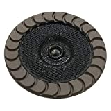 7'' Ceramic Grinding Wheels for Concrete Polishing - 30 Grit 5/8''-11 Arbor