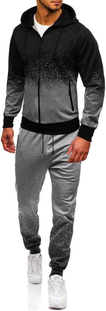 Sport Herren Jogginganzug Basic Sportanzug Trainingsanzug
