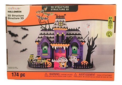 Creatology Halloween 3D Light Up Activity Kit ~ Monster Mansion (174 -
