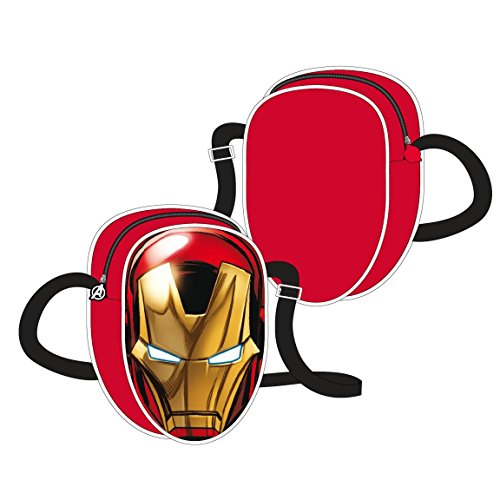 The Avengers 3D Shoulder Bag Iron Man Cerda Marvel Comics Borse