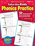 img - for Solve-the-Riddle Phonics Practice: 50+ Reproducible Activity Sheets That Help Students Master Key Phonics Skills book / textbook / text book
