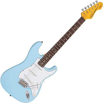 Guitarra eléctrica Vintage V6 con teclado de arce, escala de 648 ...