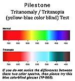 Pilestone TP-008 Blue Color Blind Glasses