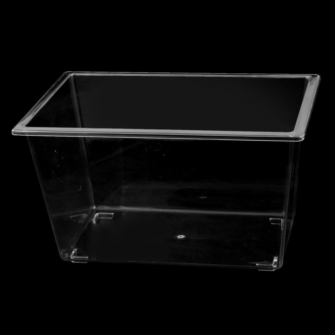 Amazon.com : eDealMax Forma plástico Rectangular acuario Betta Fish Tank Alimento de Mascota Caja : Pet Supplies