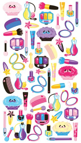 Stickers Makeup - Sticko Stickers - Make Up Time Classic Stickers