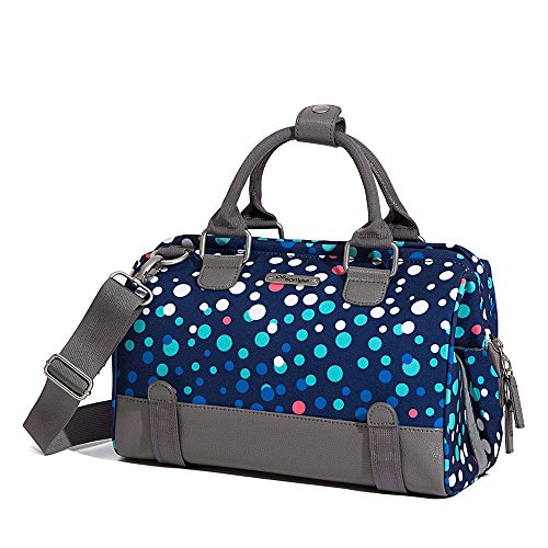 Po Campo Uptown Bike Trunk Bag Bike Satchel, Bubbles Bicycle Bubble