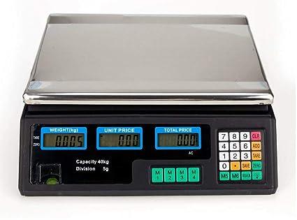 6b627bf97235 Amazon.com: COLIBROX--88LB 40KG Digital Price Computing Scale Food ...