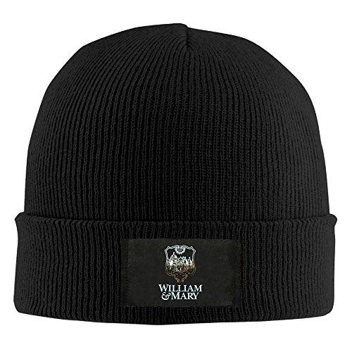 liam Winter Knitting Wool Warm Hat Black ()