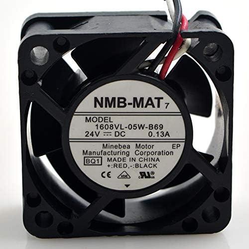 for NMB 4cm 4020 1608VL-05W-B69 24V 0.13A Numerical Control Machine Fan Inverter Cooling Fan