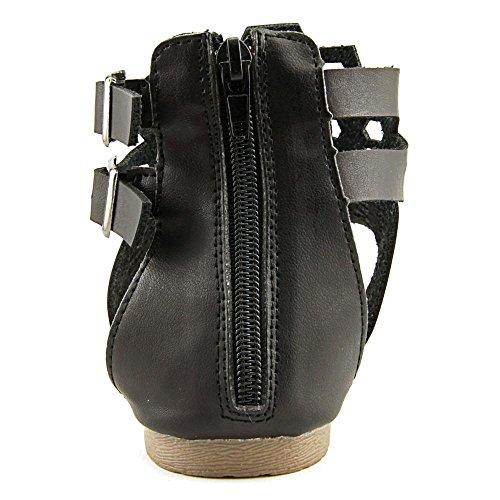 Adriana Women's Acacia-17 Flat Sandals, Black