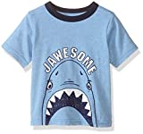 The Children's Place Boys' Graphic T-Shirt, Happy Blue, 12-18 Months