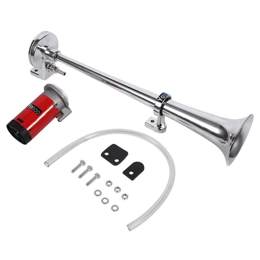 150DB super forte 12 V singola tromba Air Horn kit compressore per auto//camion//barca//Moto//veicoli 12V Singola Tromba Air Horn singola tromba