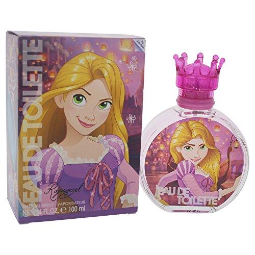 Air-Val Disney Princess Rapunzel Kinder-Parfm im Glasflakon mit Krnchen-Verschluss, 1er Pack (1x100ml)