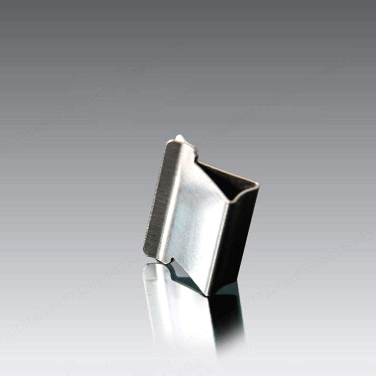DeoMeat Metal Paper librari della Clip del Dispositivo Accessori 50pcs Argento