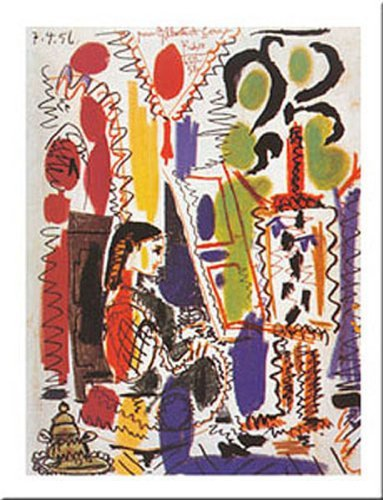 Used, L'atelier A Cannes by Pablo Picasso 12x9.5 Art Print for sale  Delivered anywhere in Canada