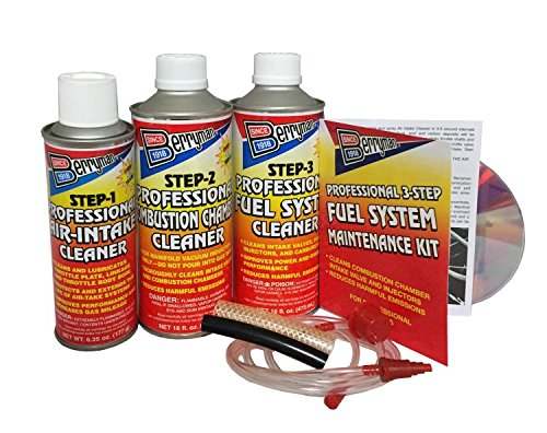 Berryman Products 2630 4 Pack B-12 Chemtool Professional 3-Step Fuel System Maintenance Kit 16 oz./9 0z. by Berryman Products