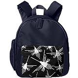 Nazca Lines Hummingbird Kids Cartoon Carrying Bookbags Printed Anti-lost Schoolbags
