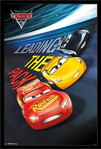 Trends International Wall Poster Disney Cars 3 Group, 22.375 x 34