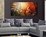 Sangu 100% Hand Painted Wood Framed 1-piece Hot Sale Music Festival For Abstract Oil Paintings Gift Canvas Wall Art Paintings For Living Room.