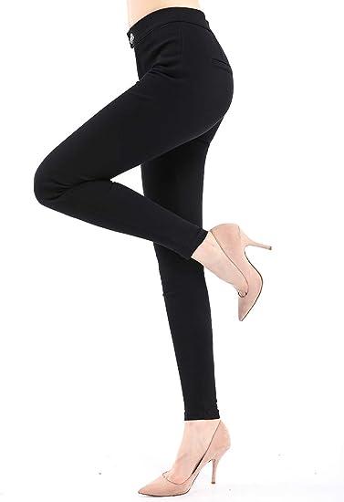 New Womens Skinny Slim Fit Leggings Stretchy Ladies Double Zip Jeggings Trouser