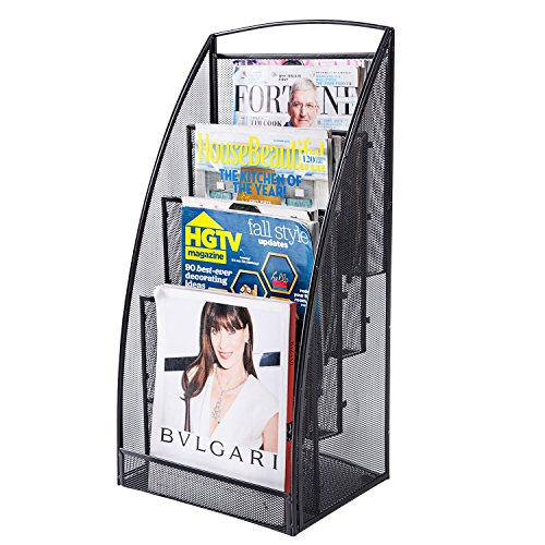 freestanding literature rack - 2