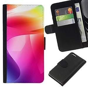 All Phone Most Case / Oferta Especial Cáscara Funda de cuero Monedero Cubierta de proteccion Caso / Wallet Case for Apple Iphone 5C // Color Swirls