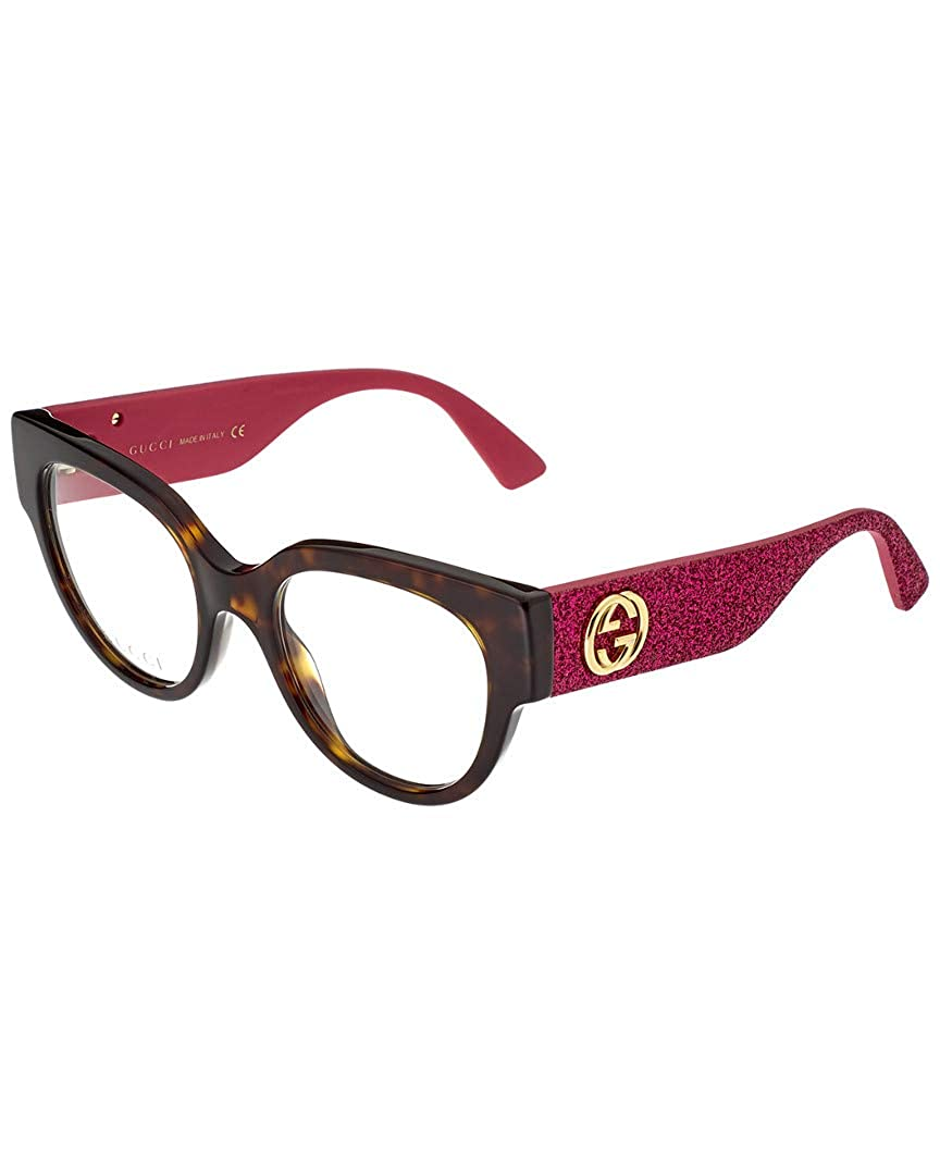 0c5cef688 Amazon.com: Gucci Women's Gg0103o-30001539003 50Mm Optical Frames: Clothing
